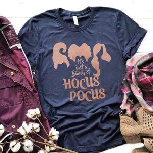 Hocus Pocus Tee - NEW NWT Navy Rose Gold XS - 3X